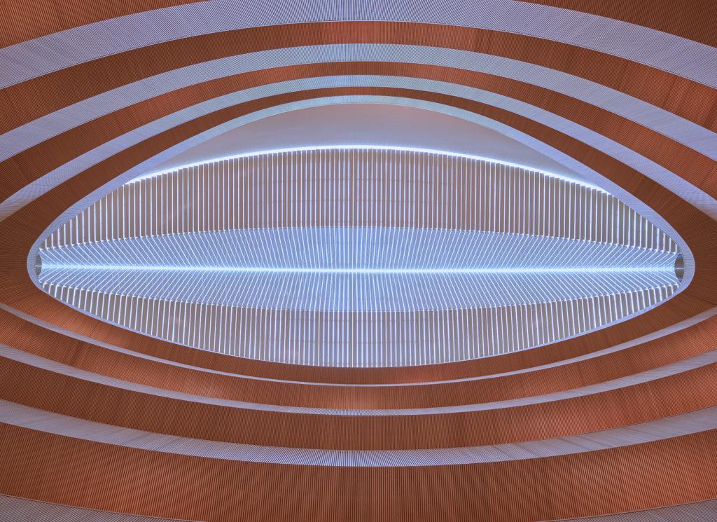 Rechtswissenschaftliche Bibliothek, Zürich, Santiago Calatrava, Institutsbibliothek