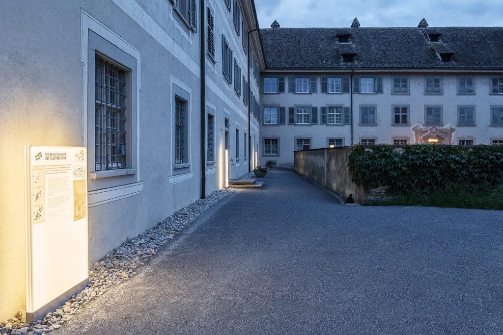 Kloster Fahr, Kräutergarten, Beleuchtung, moos licht ag, mati ag