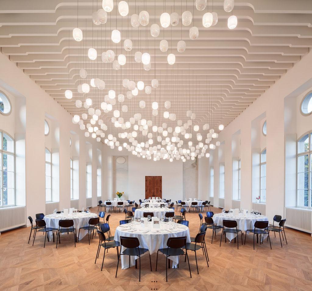 Klosterinsel Rheinau, Mühlesaal, moos licht ag, michael josef heusi